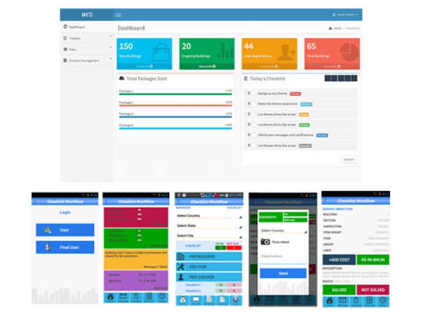 Checklist and Workflow Management System